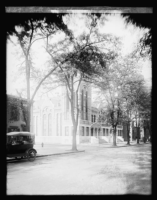 Fifth Street Baptist Church, located and 5th and E Streets, SW, Washington, DC. Source: Library of Congress