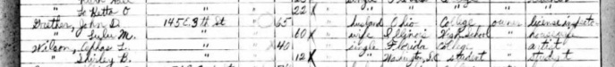 1935 Florida Census. Source: Ancestry.com