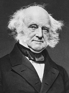 Meet my cousin. Martin Van Buren. Source: Geni.com