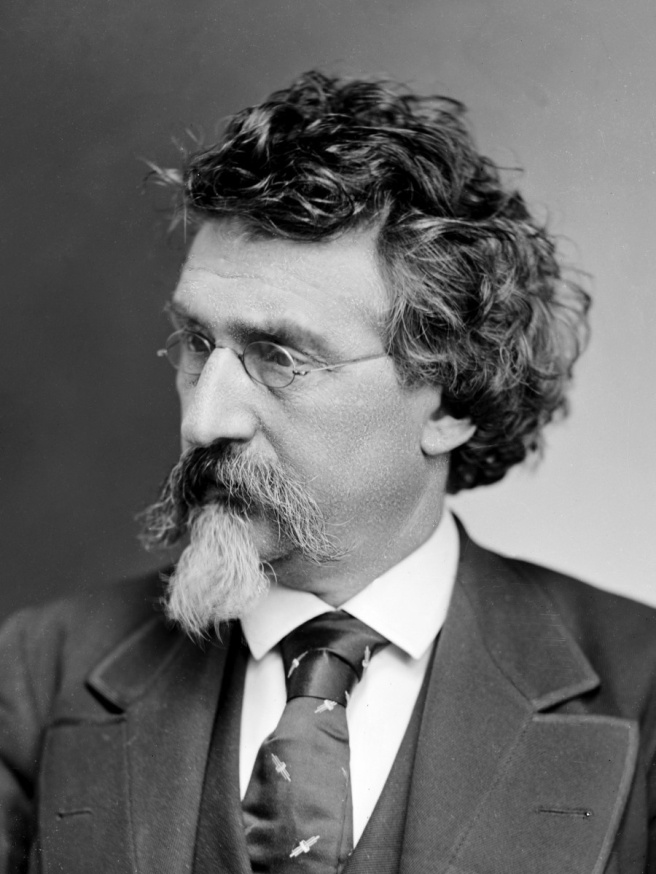 Mathew Brady, 1875. Source: LOC Prints and Photographs Division.