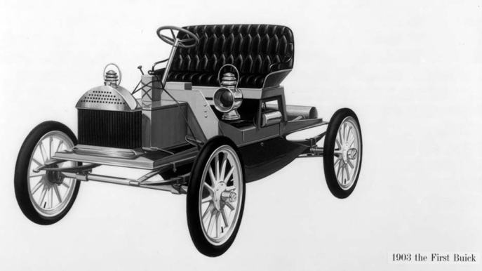 The first person to own a car in Emmett's family was -- of course -- Cephas Love Wilson, bank president, judge, mayor of Marianna, and state senator. According to the Florida Secretary of State's archive, Cephas bought one if the first cars in Jackson County, Florida, between 1903-05. Cephas' first car was a Buick. Image Source: www.buick.com.