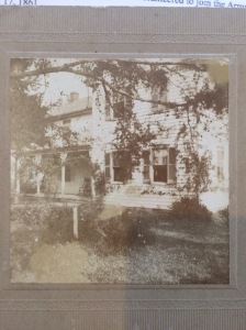 The house and property that were given to Elizabeth by her father, Judge Augustus Emmett Maxwell, around 1890.