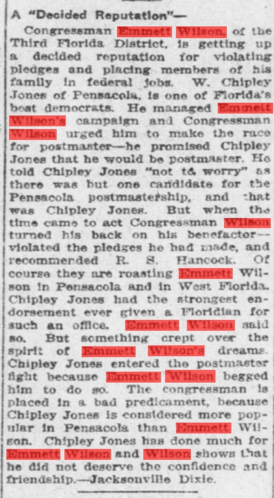 October 14, 1914. The Pensacola Journal. Source: Chronicling America.gov
