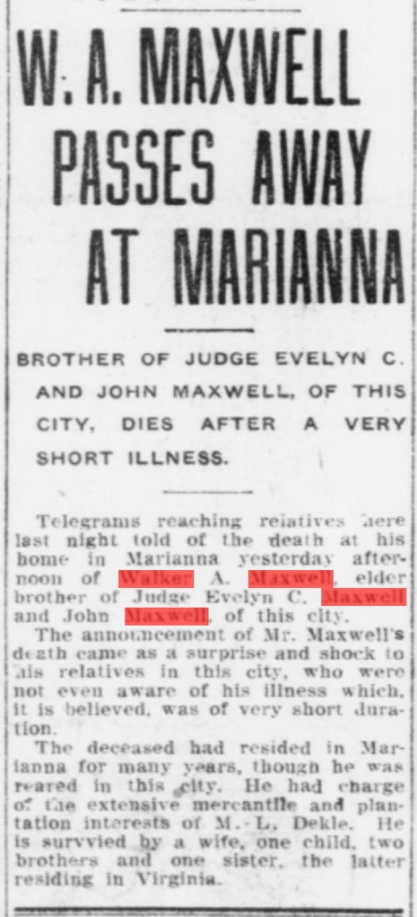 From the May 21, 1909 edition of The Pensacola Journal. Source: Chronicling America.gove