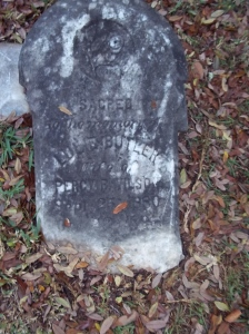 Lulie Butler Wilson. A child bride. Source: findagrave.com