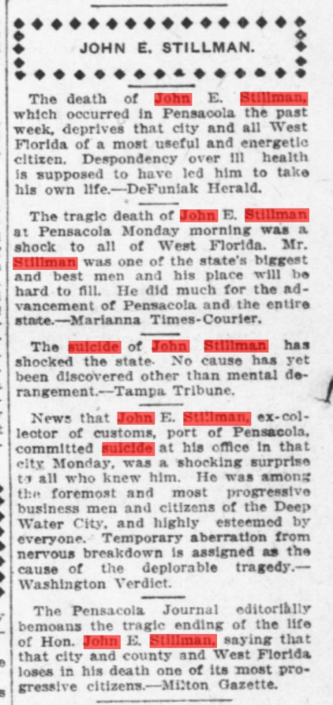 February 15, 1913. Editorial page, The Pensacola Journal. Source: ChroniclingAmerica.gov