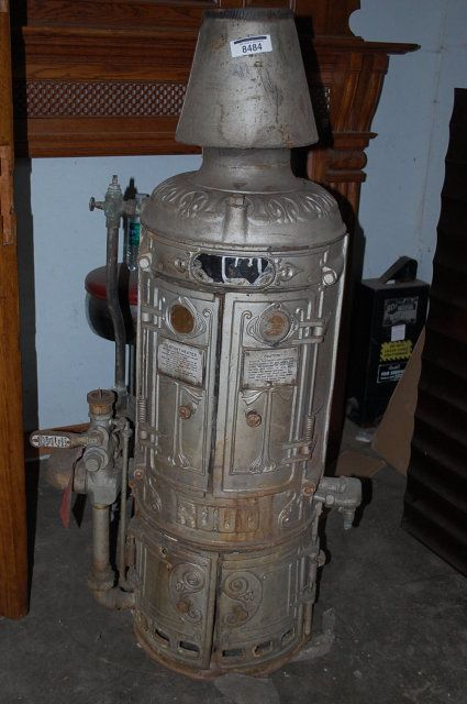 A space-age looking water heater. Source: Pinterest.com