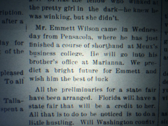 Source: The Chipley Banner, February 15, 1902