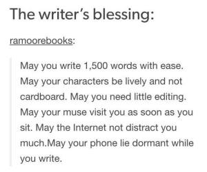 Shared by a friend/fellow writer. Oh, how I wish!