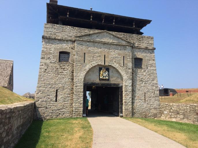 The gatehouse to Ft. Niagara.