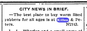 Source: Sterling Daily Standard, Nov. 22, 1906