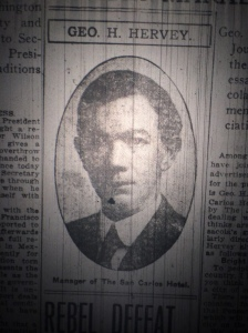 George S. Hervey. Source: The Pensacola Journal, 1909