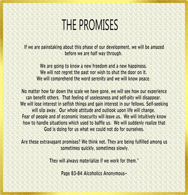 This is an image of Nifty Aa Promises Printable